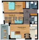 Apartament cu 3 camere in Centru, zona Garii, 69 mp