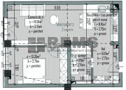 Apartament cu 2 camere in Centru, zona P-ta M.Viteazu, constructie noua, parcare
