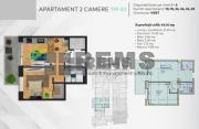 Apartament cu 2 camere in Centru, zona P-ta M.Viteazu, 44 mp