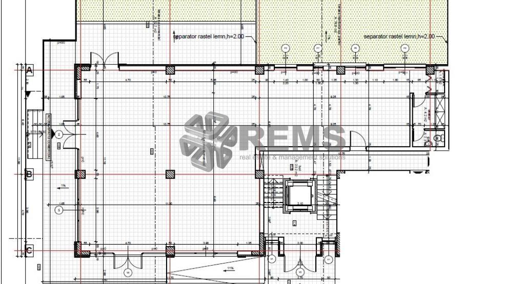 Spatiu comercial situat in constructie noua in Marasti