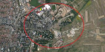 Teren de vanzare in Gheorgheni-zona Iulius Mall