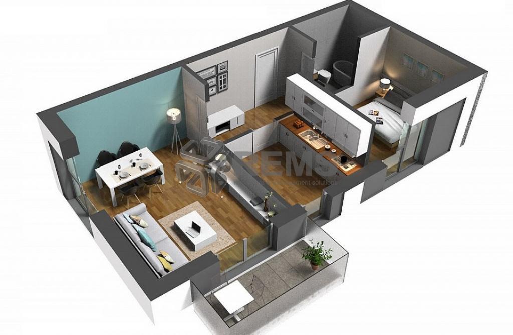 Apartament 2 camere, zona Iulius Mall, constructie noua