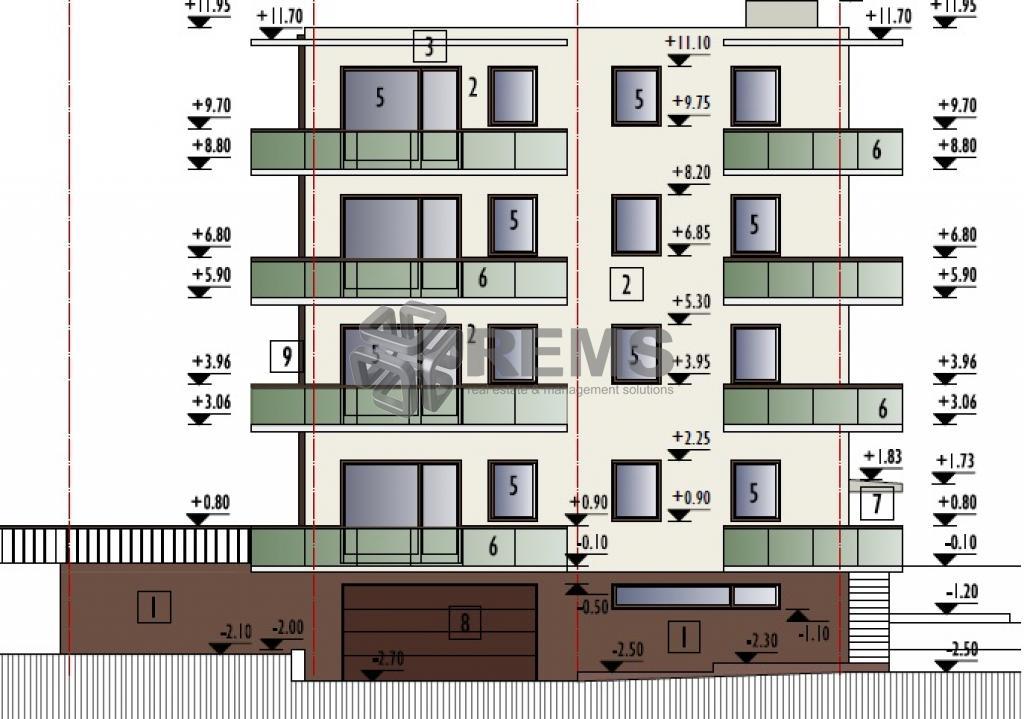 Proiect nou! Apartament 2 camere, decomandat, Buna Ziua