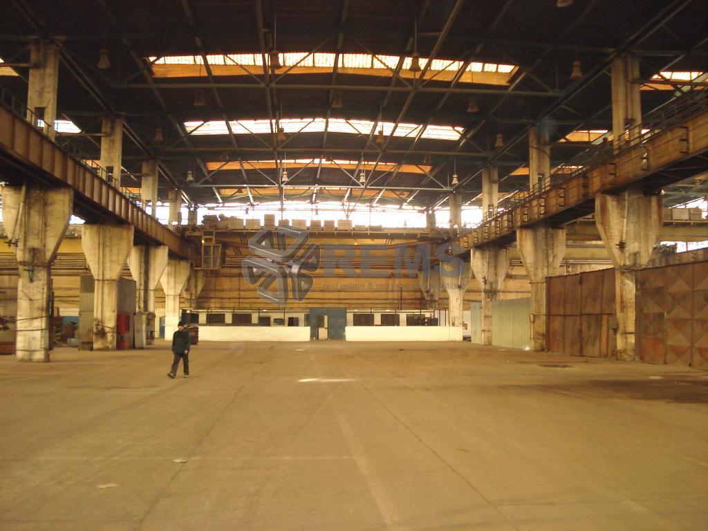 Hala productie /depozitare cu pod rulant 3 x 1000 mp