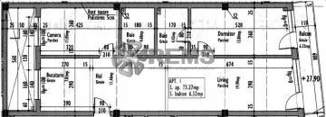 Apartament cu 3 camere in Centru, zona P-ta Mihai Viteazu, 73 mp, constructie noua