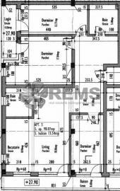 Apartament cu 4 camere in Centru, zona P-ta Mihai Viteazu, 98 mp, constructie noua