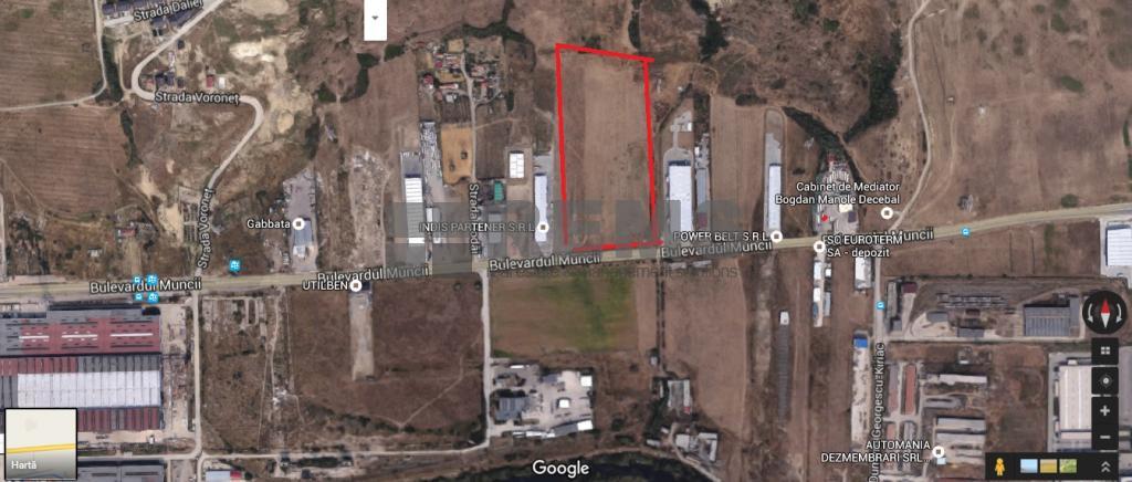 3.2 HA teren industrial cu proiect