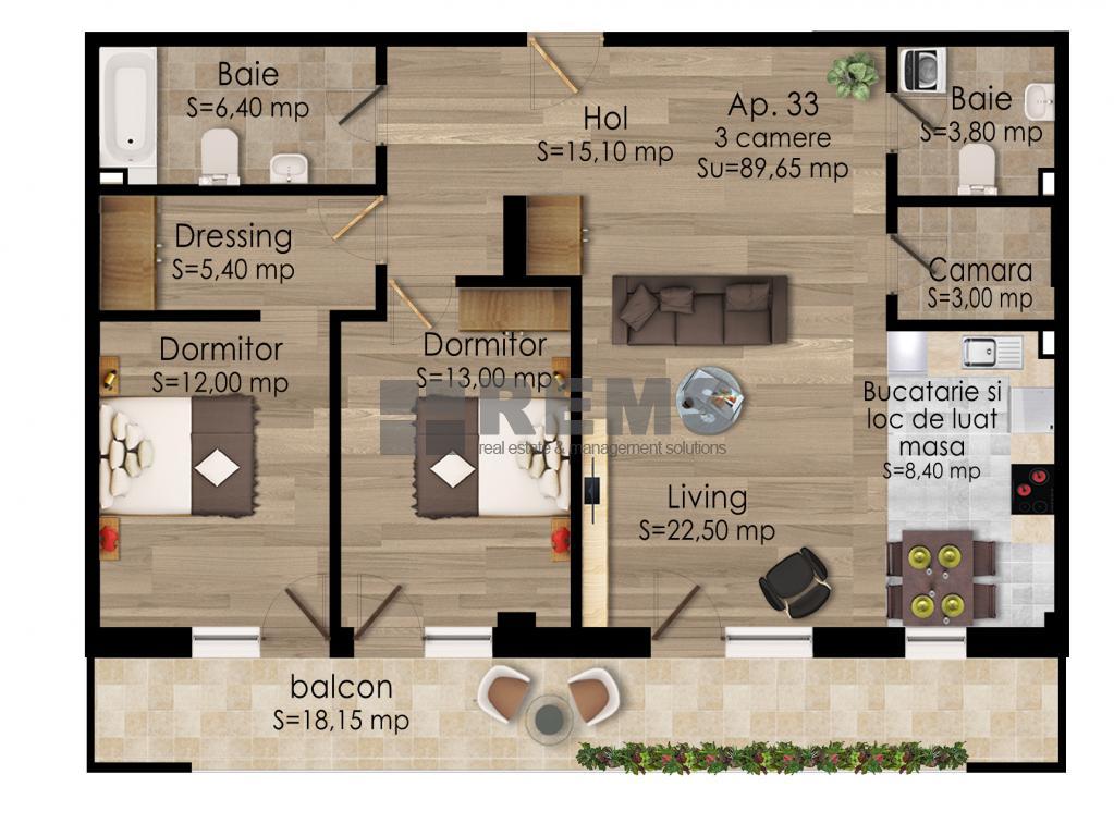 Apartament in constructie noua zona semicentrala !