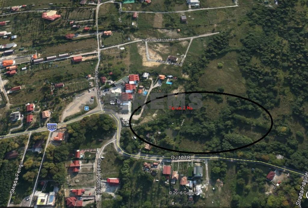 Teren in Faget zona Vila Tusa