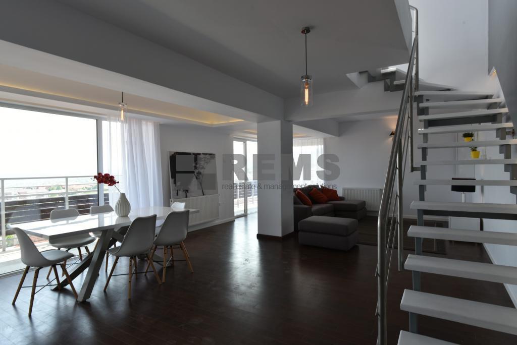 Penthouse 3 dormitoare, terase, 160 mp prima inchirere