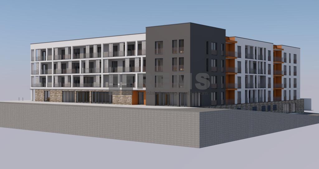 Teren cu proiect autorizat imobil cu 80 apartamente