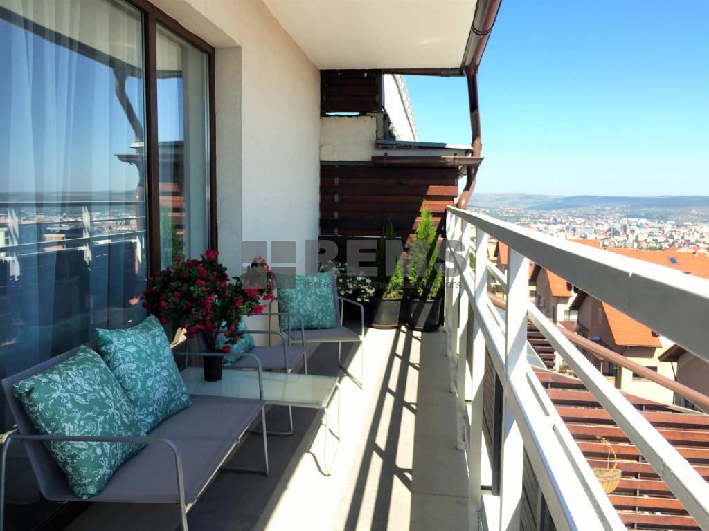 Penthouse 5 camere, loc parcare subteran, terase, Bonjour-Buna Ziua