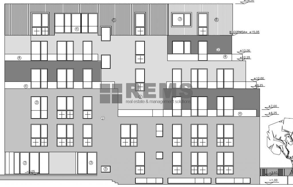 Teren cu proiect autorizat pentru 22 apartamente