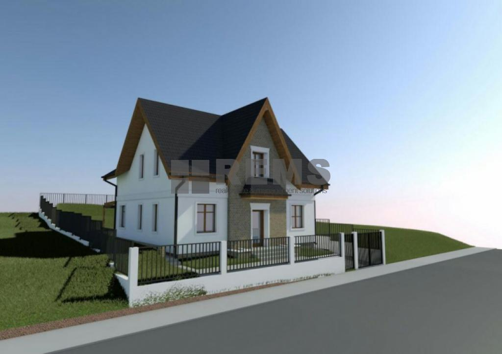 Teren cu proiect autorizat in Borhanci zona strazii R Ladea