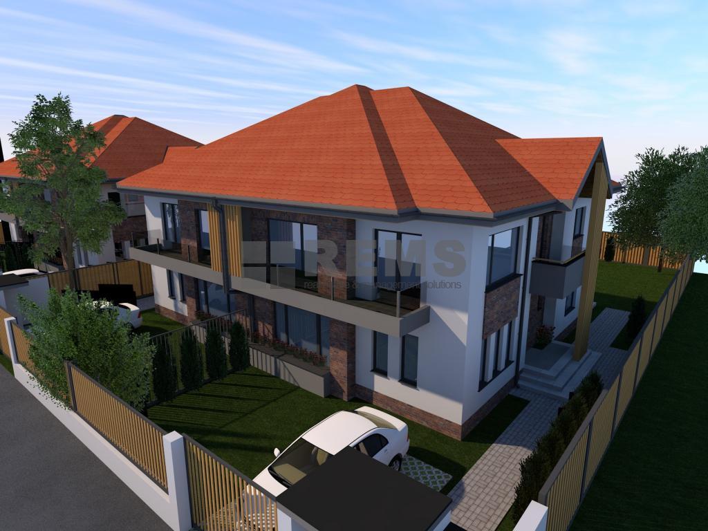 Casa de vanzare, 4 camere, proiect deosebit, Borhanci