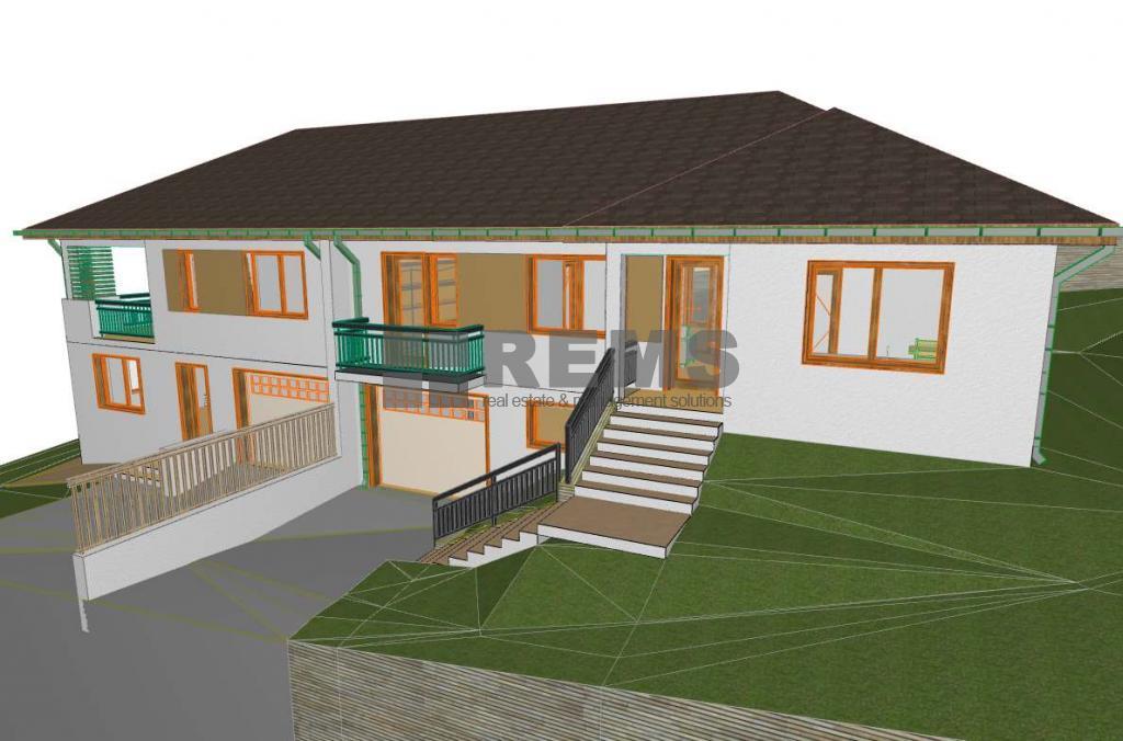 Teren cu proiect autorizat pentru constructie duplex