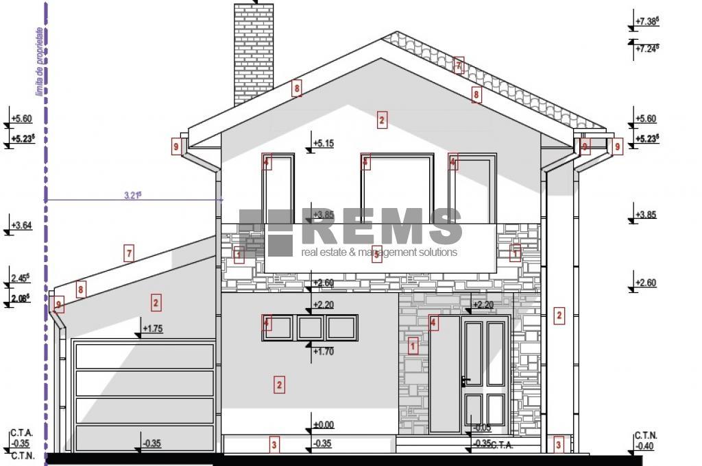 Casa 4 camere, c-tie noua, Buna Ziua, zona exclusiv de case
