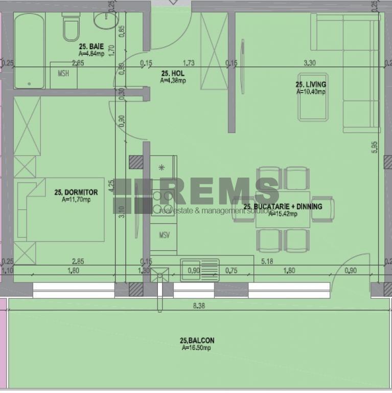 wohnung zum verkaufen cluj napoca rems 7359 rems imobiliare. Black Bedroom Furniture Sets. Home Design Ideas