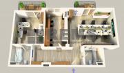 Apartament 3 camere, nemobilat, prima inchiriere, Riviera-Iulius Mall