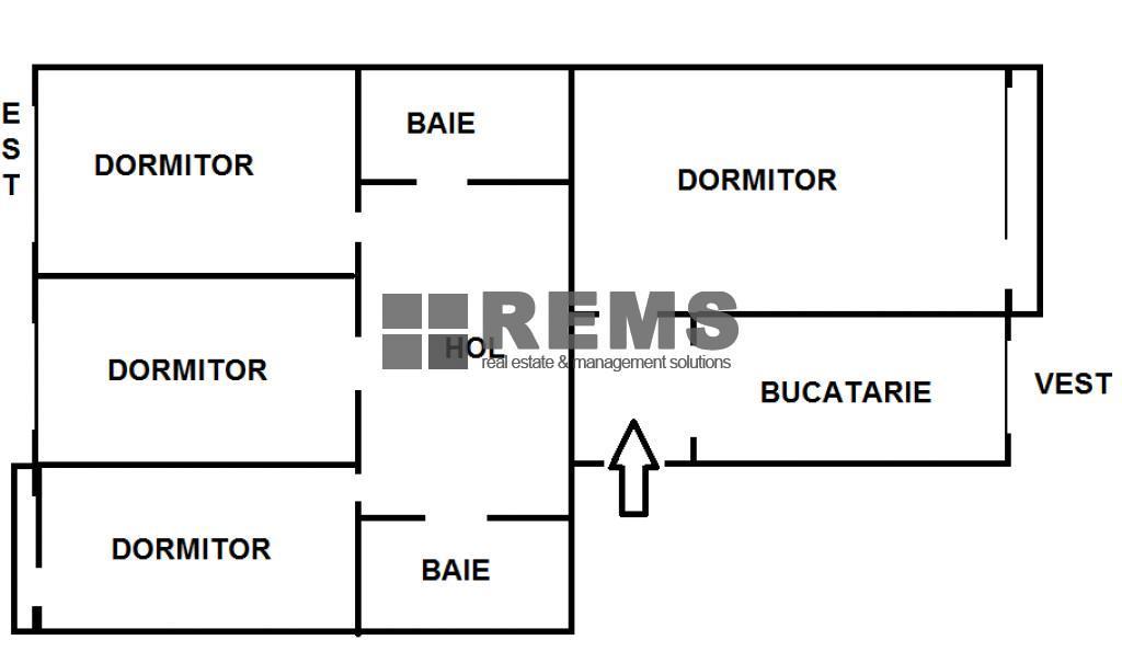 wohnung zum verkaufen cluj napoca rems 7670 rems imobiliare. Black Bedroom Furniture Sets. Home Design Ideas