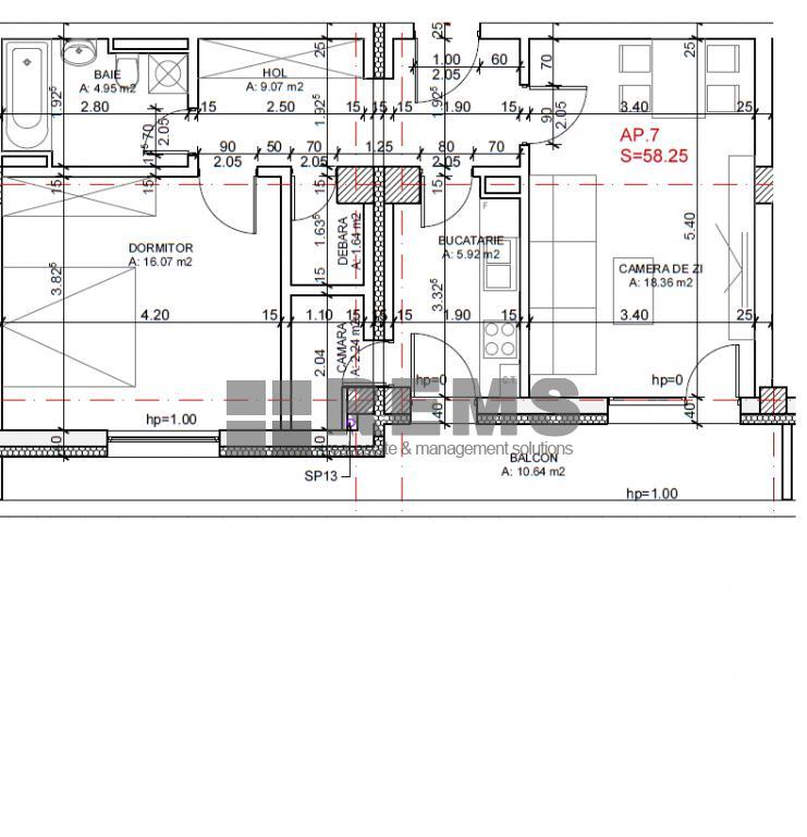 wohnung zum verkaufen cluj napoca rems 8396 rems imobiliare. Black Bedroom Furniture Sets. Home Design Ideas