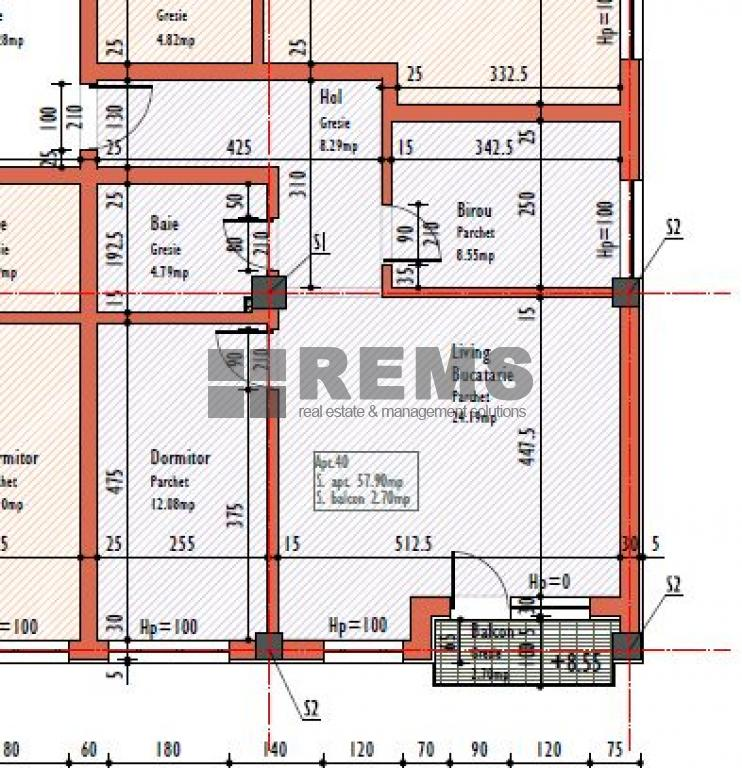 wohnung zum verkaufen cluj napoca rems 8540 rems imobiliare. Black Bedroom Furniture Sets. Home Design Ideas
