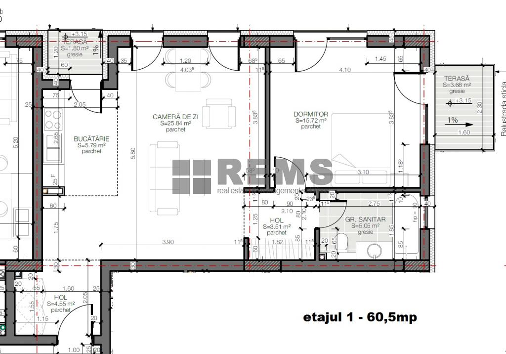 wohnung zum verkaufen cluj napoca rems 9453 rems imobiliare. Black Bedroom Furniture Sets. Home Design Ideas