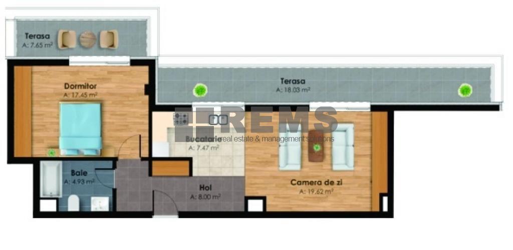 wohnung zum verkaufen cluj napoca rems 9967 rems imobiliare. Black Bedroom Furniture Sets. Home Design Ideas