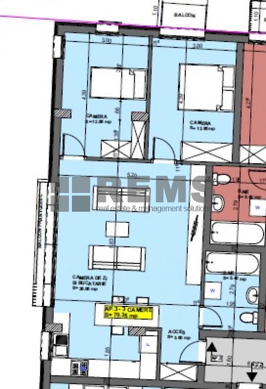 wohnung zum verkaufen cluj napoca rems 9968 rems imobiliare. Black Bedroom Furniture Sets. Home Design Ideas